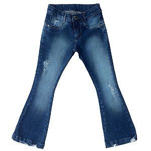 Calça Jeans Clube do Doce Flare