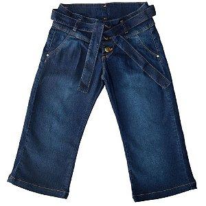 Calça Jeans Clube do Doce Pantacourt Kids