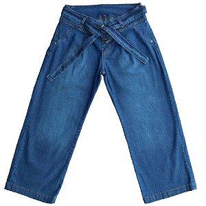Calça Jeans Clube do Doce Pantacourt Teen