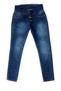 Calça feminina juvenil jeans cigarret 10 ao 16 clube do doce