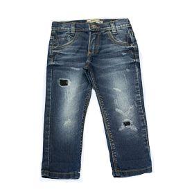 Calça masculina infantil jeans slim cd 1 ao 3 clube do doce