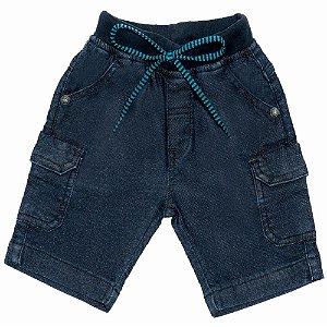 Bermuda Jeans Clube do Doce Cargo - Verão 2021