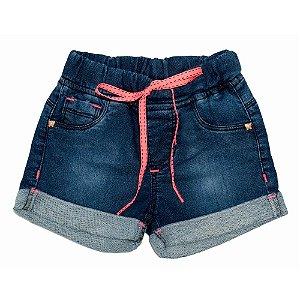 Shorts Jeans Clube do Doce Barra Dobrada - Verão 2021