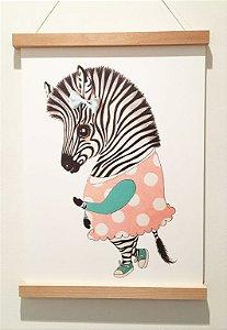 Pôster A3, Ella a zebra