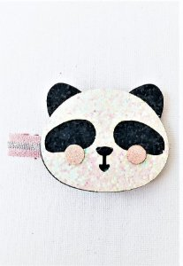 Presilha Panda Glitter