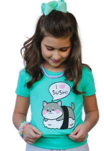 Camiseta I love Sushi
