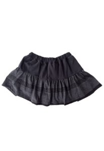 Shorts Saia Preto halloween