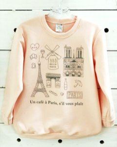 Moletom Paris