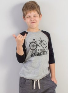 Camiseta Raglan Bike