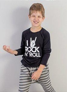 blusa love rock
