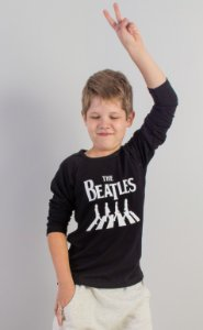 blusa raglan beatles