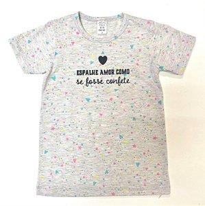 Camiseta Confete Estrela