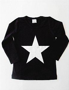 Camiseta Manga Longa Estrela