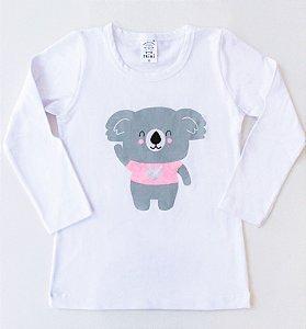 Camiseta Manga Longa Coala