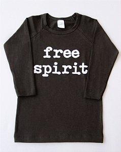 Camiseta Manga Longa Free Spirit