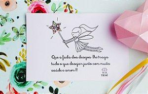 Cartão de Mensagem para Presente 10x15