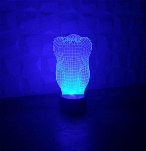 Luminária Dente 3D