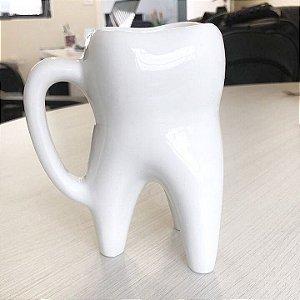 Caneca em Formato de Dente Molar