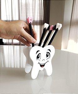 Porta Canetas em formato de Dente
