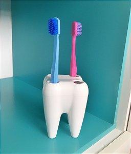 Porta Escova de Dente em Formato de Dente