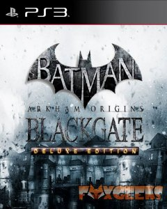 Batman: Arkham Origins Blackgate Deluxe Edition [PS3]