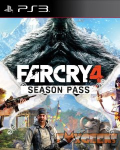 Far Cry 4 - Passe da Temporada (DLC) [PS3]