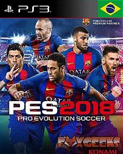 PES 2018 [PS3]