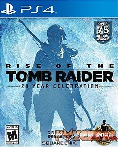 Rise of the Tomb Raider: Comemoração de 20 Anos [PS4]