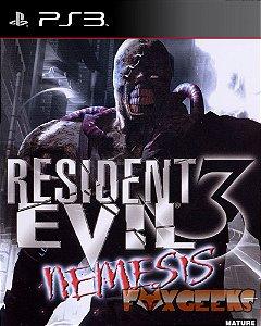 Resident Evil 3 Nemesis (CLÁSSICO PSONE) [PS3]