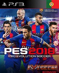 PES 2018 PT [PS3]