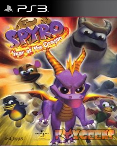 Spyro Year of The Dragon (CLÁSSICO PSONE) [PS3]