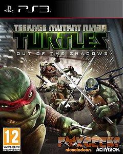Tartarugas Ninja: Out of Shadows [PS3]