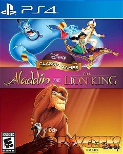 Disney Classic Games: Aladdin e O Rei Leão [PS4]