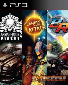 3N1 BlazerRush Armageddon Riders Planets Under Attack [PS3]