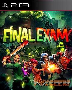FINAL EXAM [PS3]