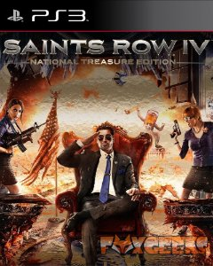 SAINTS ROW 4 NATIONAL TREASURE EDITION [PS3]