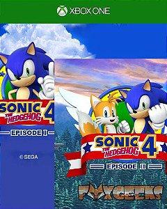 SONIC 4 Episode I e Sonic The Hedgehog 4 Episode II  [Xbox One]