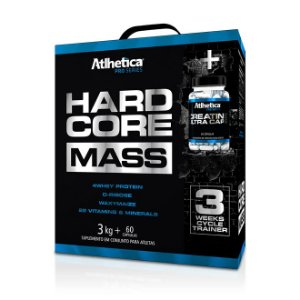 HARDCORE MASS (3KG) - ATLHÉTICA NUTRITION