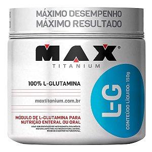 L-G GLUTAMINA (150G) - MAX TITANIUM