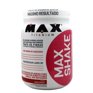 MAX SHAKE (400G) - MAX TITANIUM