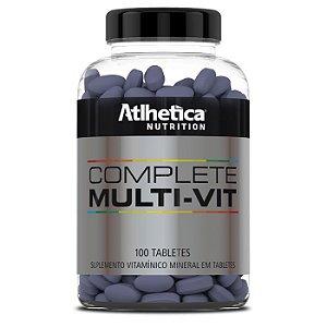 COMPLETE MULTI VIT (100 TABS) - ATLHÉTICA NUTRITION