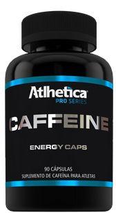 CAFFEINE (90 CAPS) - ATLHÉTICA NUTRITION