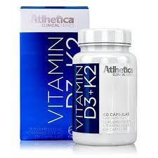VITAMIN D3 + K2 (60 CAPS) - ATLHÉTICA NUTRITION