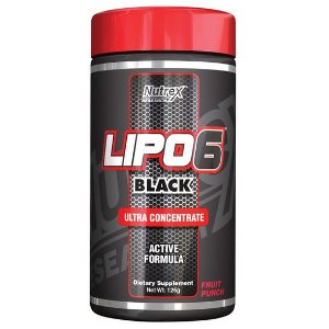 LIPO 6 BLACK ULTRA CONCENTRATE (120G) - NUTREX