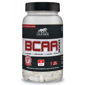 BCAA 3000 (60 CAPS) - LEADER NUTRITION