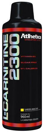 L-CARNITINA 2300 (960ML) - ATLHÉTICA NUTRITION