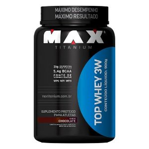 TOP WHEY 3W (900G) - MAX TITANIUM