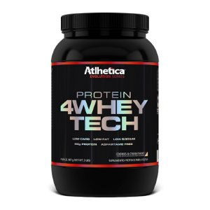 4WHEY TECH (900G) - ATLHÉTICA NUTRITION