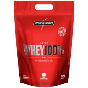 SUPER 100% WHEY (907G) REFIL - INTEGRALMEDICA