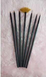 Kit com 7 Pincéis (várias cores) - Miss Frandy